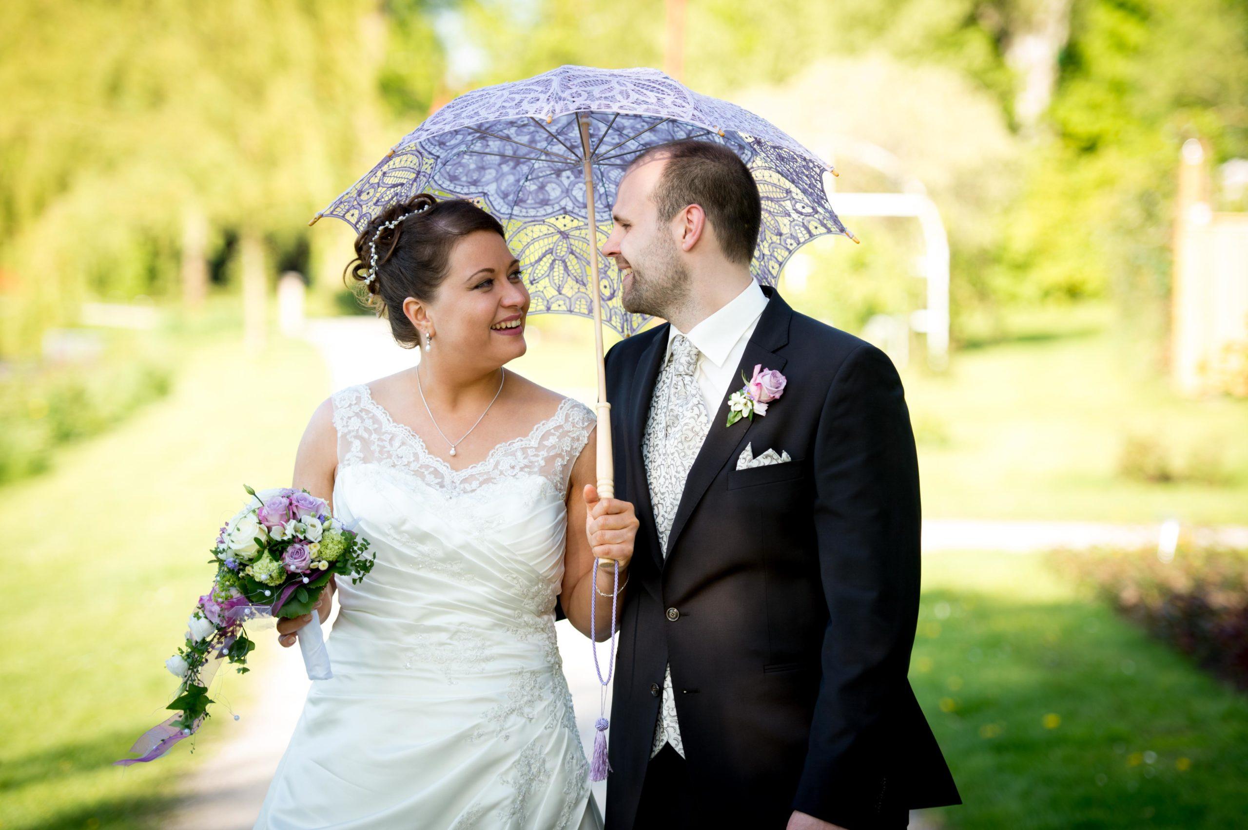 Hochzeit im Rosengarten Uetersen