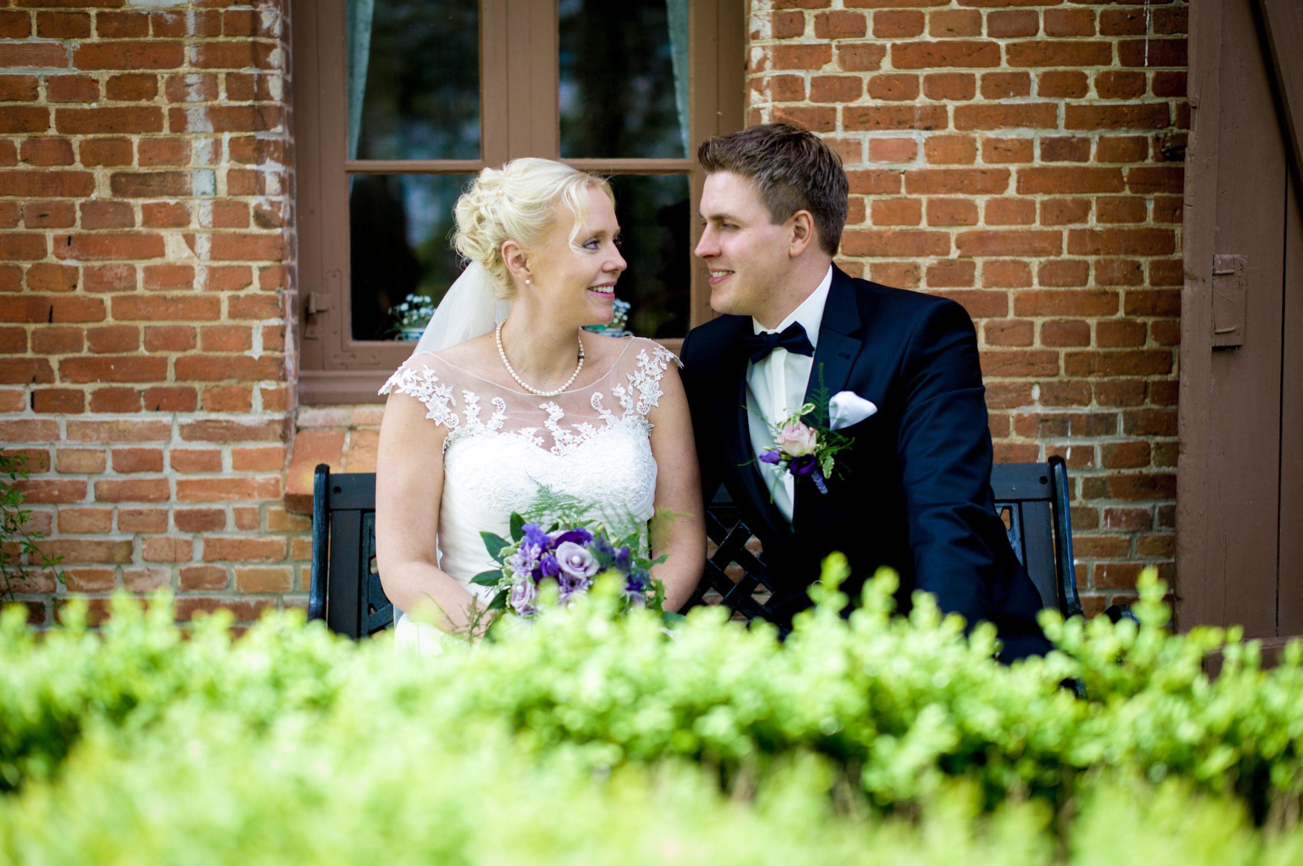 Hochzeit in der Kirche Gokels
