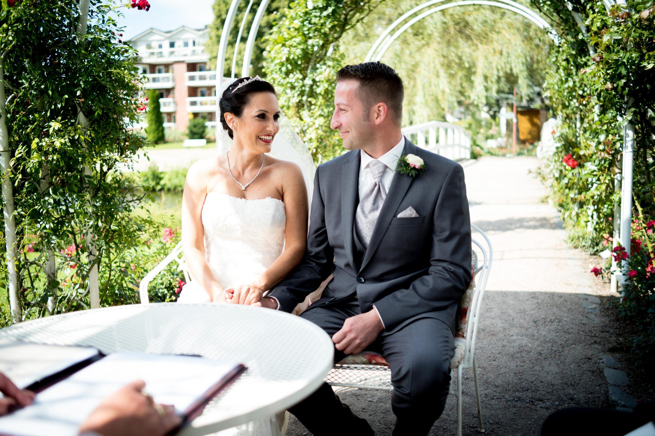 Heiraten im Rosarium Uetersen